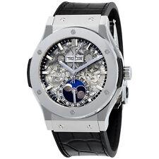 Hublot  Aerofusion Moonphase Sapphire Dial Titanium Mens Watch 517.NX.0170.LR