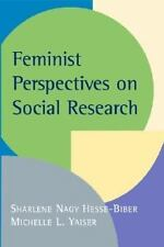 Feminist Perspectives on Social Research, , Very Good Book