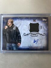2016 Topps WWE Undisputed dean Ambrose Relic Auto Autograph 23/25