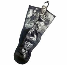 DGA Day of the Dead Skull Lowrider Rockabilly Art Men's Tube Socks Showtime