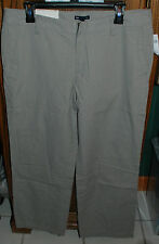 12 NWT GAP Gray Pinstripe Straight Fit Chino Pants