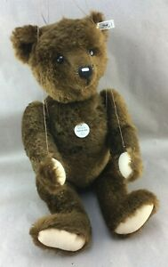 Authentic STEIFF Bear Limited Edition Pantom Full String Marionette Puppet 21""