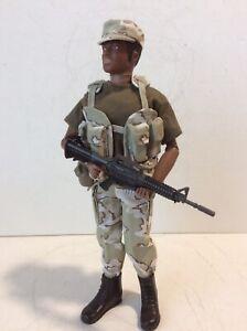 """GI Joe Custom 12"""" Tripwire Toys Modern Desert Camo Soldier W/ Load Bearing Vest"""