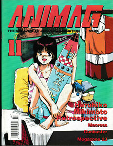 Animag Magazine  #11 English Anime Magazine Mikimoto Haruhiko Macross