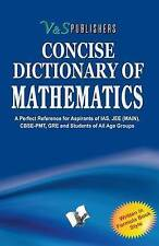Concise Dictionary of Mathematics Editorial Board Paperback 9789381588833