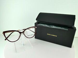 Dolce & Gabbana DG 3295 (3091) Bordeaux 52 x 16 140 Eyeglass Frames