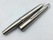 Y6693  PILOT M90 MYU Fountain Pen Namiki JAPAN* Silver 14K Gold 585    M