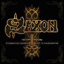 SAXON - ST.GEORGE'S DAY-LIVE IN MANCHESTER 2 CD NEU