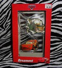 COLLECTOR= DISNEY CARS- MATER & LIGHTNING MCQUEEN UNIQUE HANGING DECORATION!!!