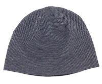 $100 Bloomingdale'S Mens Unisex Black Knit Warm Winter Hat Cap Beanie One Size