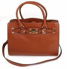 Michael Kors Hamilton Tan Brown Leather Tote Tech Handbag RRP £350