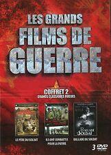 COFFRET 3 DVD – Les Grands Films de Guerre Vol.2