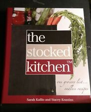 STOCKED KITCHEN COOKBOOK one grocery list recipe organization LIKE NEW Condition