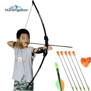Children Bow 15lbs Competitive Shooting Outdoor Sport Training Kid's Activity