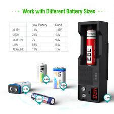 Battery Volt Tester Checker Aa/Aaa/C/D/9V Universal Button Cell Battery Tester
