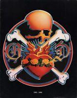 GRATEFUL DEAD 1980 15th ANNIVERSARY TOUR PROGRAM BOOK / JERRY GARCIA / NM 2 MINT