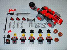 NEW LEGO Minifigure Castle Dragon black Knight catapult soldier figure army set