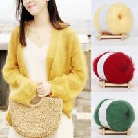 25g/roll Angora Mohair Cashmere Crochet Thread Knitting Wool Yarn Soft Shawl