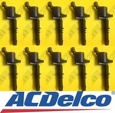 LOT OF 10 FORD - INCOLN - MERCURY - NEW ACDELCO IGNITION COIL -Premium Quality