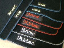 Alfombrillas Mitsubishi Grandis a medida con fijaciones y personalizadas
