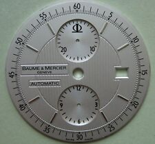 GENUINE BAUME & MERCIER AUTOMATIC CHRONO WATCH Dial Silver Color New dia 36 mm