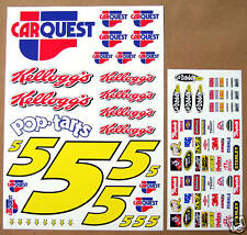 RC Nascar Car Quest Mark Martin 1/10th decals stickers
