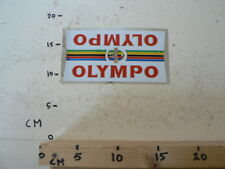 STICKER,DECAL OLYMPO GT FIETS CYCLE VINTAGE STICKER NOT 100 % OK