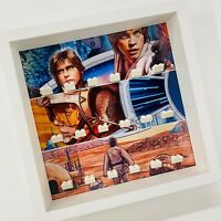 Display case Frame for Lego Classic Star Wars minifigures no figures 27cm