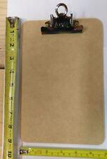 6 Ea A Amp W 4008 6 X 9 Memo Sized Masonite Clipboards W Metal Spring Clip