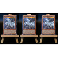 Yugioh PROXY 3x-Playset: Blue-Eyes Alternative White Dragon | Card Karte Custom