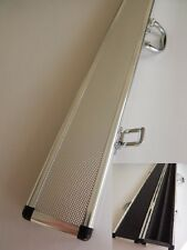 """HARD CASE FOR 57"""" 2 Piece Centre Split POOL / SNOOKER CUE CHROME FINISHED - Gift"""