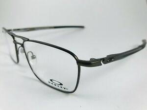 New Titanium Oakley Eyeglasses OX 5127 0251 02 51 Gauge 5.2 Truss pewter w pouch