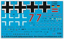 Peddinghaus 1965 1/24 me 109 G4 RESTAURATO MACCHINA DER MAC