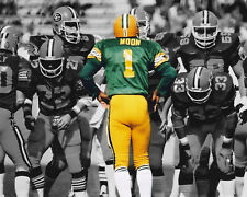 Warren Moon - Edmonton Eskimos, 8x10 Color Photo