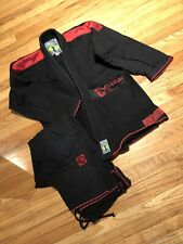 Ctrl Industries Jiu Jitsu Gi Black Red Size A1 Excellent Condition Shoyoroll