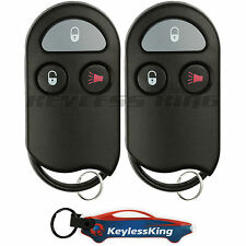 2 Replacement for 2000 Nissan Xterra Key Fob Keyless Entry Car Remote