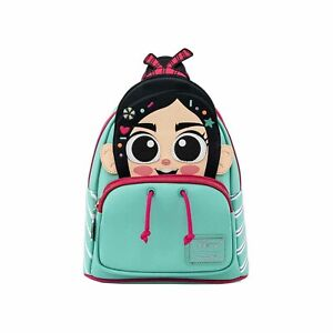 Loungefly Disney Wreck It Ralph Vanellope Cosplay Mini Backpack NEW IN STOCK
