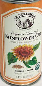 New Trader Joe's  Le Tourangelle Organic Sunflower Oil 8.45 oz each