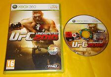 UFC UNDISPUTED 2010 XBOX 360 Versione Italiana 1ª Edizione ○○ SENZA MANUALE - AE