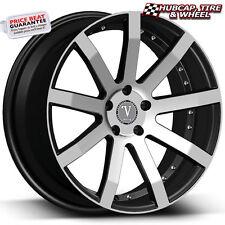 """Velocity VW19 V19 Black Machined 18""""x7.5 Custom Wheel (ONE Rim) FREE Shipping"""