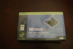 Linksys Model No. WUSB11 2.4 GHz Instant Wireless Series USB Network Adapter