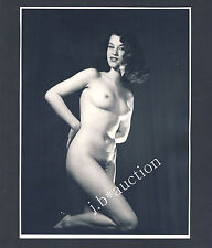 Sultry nude woman/acte pin up érotisme femme nue * vintage 60s seufert photo