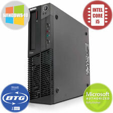 Lenovo Desktop Computer M91 PC Intel i5 Quad Core 3.1GHz 8GB 500GB HD Win 10 Pro