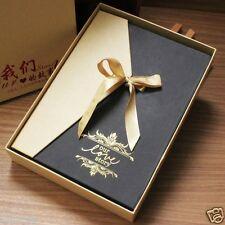 5 X 7 in Paper Cover Ring Binder Love Memory DIY Photo Album Book Storage Box