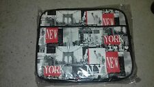 "SACOCHE BESACE PC / ORDINATEUR / NOTEBOOK NEW YORK 15"" - NEUF - NOIR"