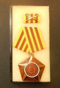 DDR Medaille  Kampforden in Bronze Rs  gekörnt