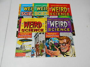 Weird Science Reprints #1-22, (EC), 7.5 VF- to 9.0 VF/NM