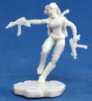 1 x BONNIE - BONES REAPER figurine miniature rpg chronoscope female zombie 80025