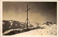 Mindelheimer Hütte Bayern Allgäuer Alpen AK ~1940 Gipfelkreuz Kreuz ungelaufen