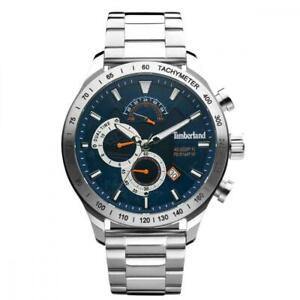 Orologio Uomo TIMBERLAND NICKERSON TDWGK2100205 Acciaio Blu Dual Time